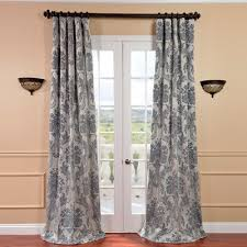 Single Blackout Curtain Deerpark Nature Floral Blackout Rod Pocket Curtain Panel U0026 Reviews