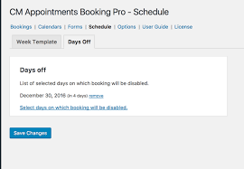 schedule appointments and manage bookings plugin for wordpress