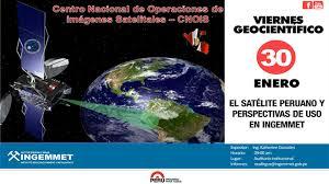 imagenes satelitales live tema el satélite peruano y perspectivas de uso en el ingemmet