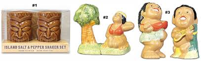 kitchen collectables salt pepper shakers hawaiian kitchen collectables