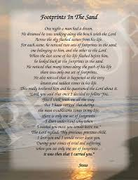 footprints in the sand gifts footprints in the sand poem 8 5x11 inspirational print ready