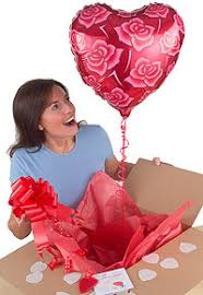 balloon in a box delivery gift delivery service mascothire ie