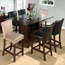 glass counter height table sets glass top counter height dining sets counter height round dining