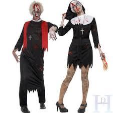 Costume Halloween Halloween Zombie Priest Couples Costume Mens Ladies