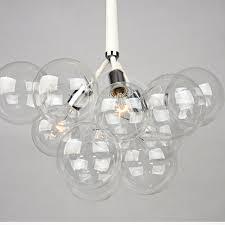 modern black light fixtures modern black white creative glass bubble pendant l light glass