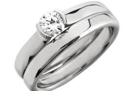 Wedding Rings At Walmart by Engagement Rings Diamond Sapphire Ring 1 Ct Tw Princess Cut 14k