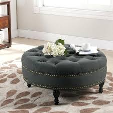 Ottoman Coffee Table Target Fine Round Brown Ottoman Images Leather Storage Tufted Cushion
