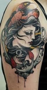 lobster tattoos lobster tattoo tattoo and maine tattoo