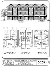 retail space floor plan living on top 3rd floor and retail space on bottom level