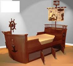 Pirate Ship Bedroom by Pirate Ship Toddler Bed With Drawers For Bedroom Themed Decoration