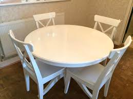ikea black brown dining table white round dining table ikea con ronde bjursta and chairs black