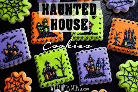 worth pinning haunted house sugar cookies
