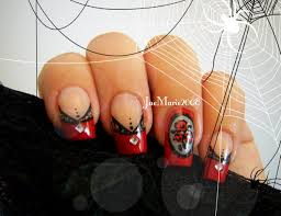 victorian style laced tips halloween nail design youtube
