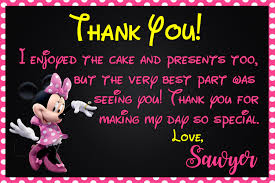 minnie mouse thank you cards friendship minnie mouse picture thank you cards with minnie