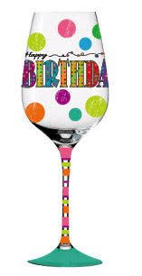 happy glass large personalized wine glass happy 30th birthday on etsy