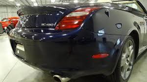 2005 lexus sc430 hardtop convertible 2007 lexus sc 430 convertible for sale near o fallon illinois