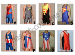 halloween costumes xxxl pro superhero lycra spandex zentai wrestling singlet tights pants
