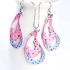 quilling earrings set my quilling earrings from cookie000 loveitsomuch