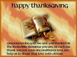thanksgiving prayer ambassador of work bible