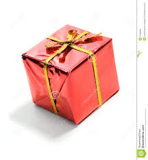 wrapped christmas boxes gifts tiny wrapped christmas gift stock image image 45306993