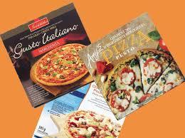 cuisiner une pizza évaluation de 99 pizzas surgelées protégez vous ca