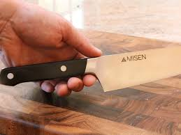 recommended kitchen knives at 65 the misen chef u0027s knife is the holy grail of knives