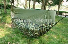 baby double hammock camping survival hammock parachute cloth