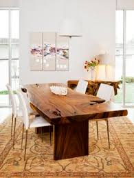 Dining Room Wood Tables What A Gorgeous Piece Of Wood Turned Into Great Dining Room Table