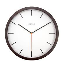 Wood Clock Designs by Category Wall Clocks Nextime Nextime International