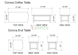 coffee table dimensions design exciting standard coffee table dimensions in mm images design ideas