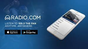 105 7 the fan listen live 105 3 the fan 1053thefan twitter