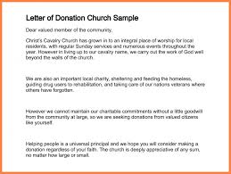 9 sample letter asking for donations for church recommendation