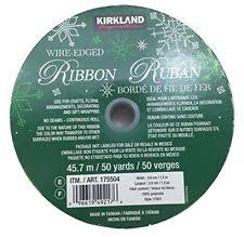 wire edged ribbon plaid checkered tartan wire edge ribbon gold trim 1 5 in x 125 ft