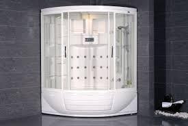 avitus steam shower with whirlpool bathtub