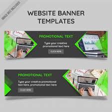 banner design jpg website banner templates vector free download