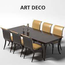 Oak Design Art D Model Art Deco Pinterest Design Art Art - Art dining room furniture