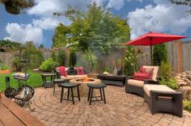 rattan backyard design how to design and build your own patio
