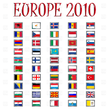 Similar Flags Set Of Flags Of Europe Royalty Free Vector Clip Art Image 9836