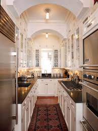Open Galley Kitchen Ideas Kitchen Dazzling Open Concept Food Pantries Bakeware Sets