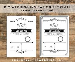 diy wedding invitations templates theruntime com