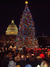 capitol tree lighting u s capitol historical society
