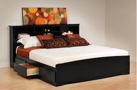 King Size Platform Bed Awesome Traditional Bedroom With King Size Platform Bed Storage