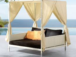 outdoor bed awesome outdoor daybed outdoor canopy swing bed