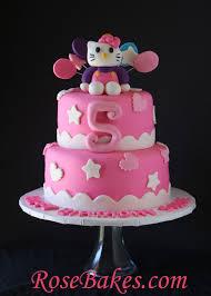 hello kitty birthday cake rose bakes