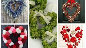 Valentines Day Decoration Valentines Wreath Ideas 2017 Valentine U0027s Day Decor Youtube