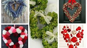 valentines wreath ideas 2017 valentine u0027s day decor youtube