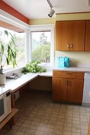 kitchen remodel idea my kitchen remodel windows flush with counter the inspired room