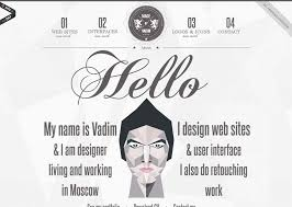 25 Examples Of Creative Graphic by Creative Examples Of About Me Pages