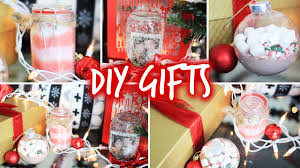 Christmas Homemade Gifts by Easy Diy Christmas Gifts For Friends Family U0026 Boyfriends Youtube