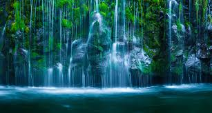 California waterfalls images California waterfalls in spring mount shasta area and burney jpg